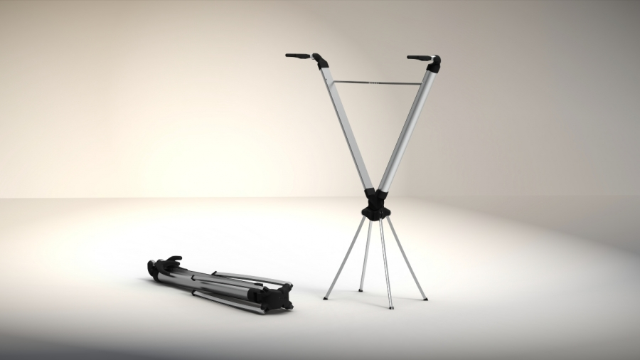 Portable Bicycle Holder