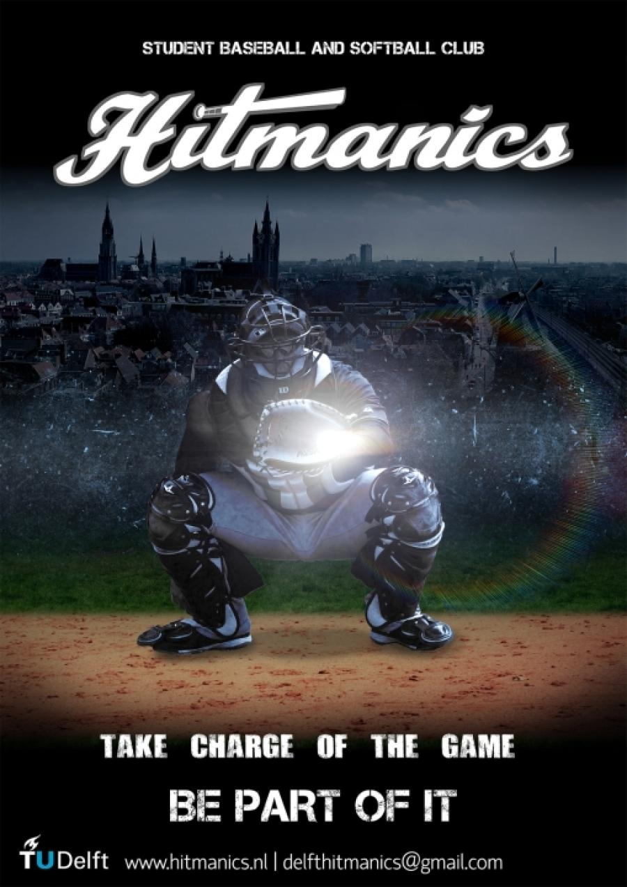 Tu Delft Softball Team Posters